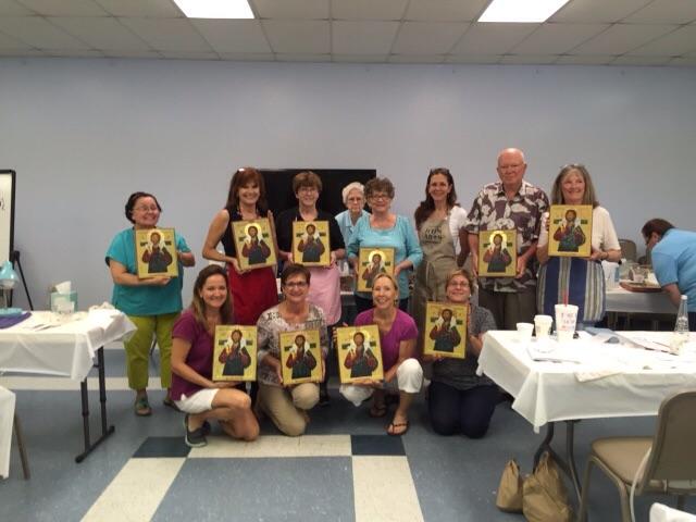 Irene Perez iconography class